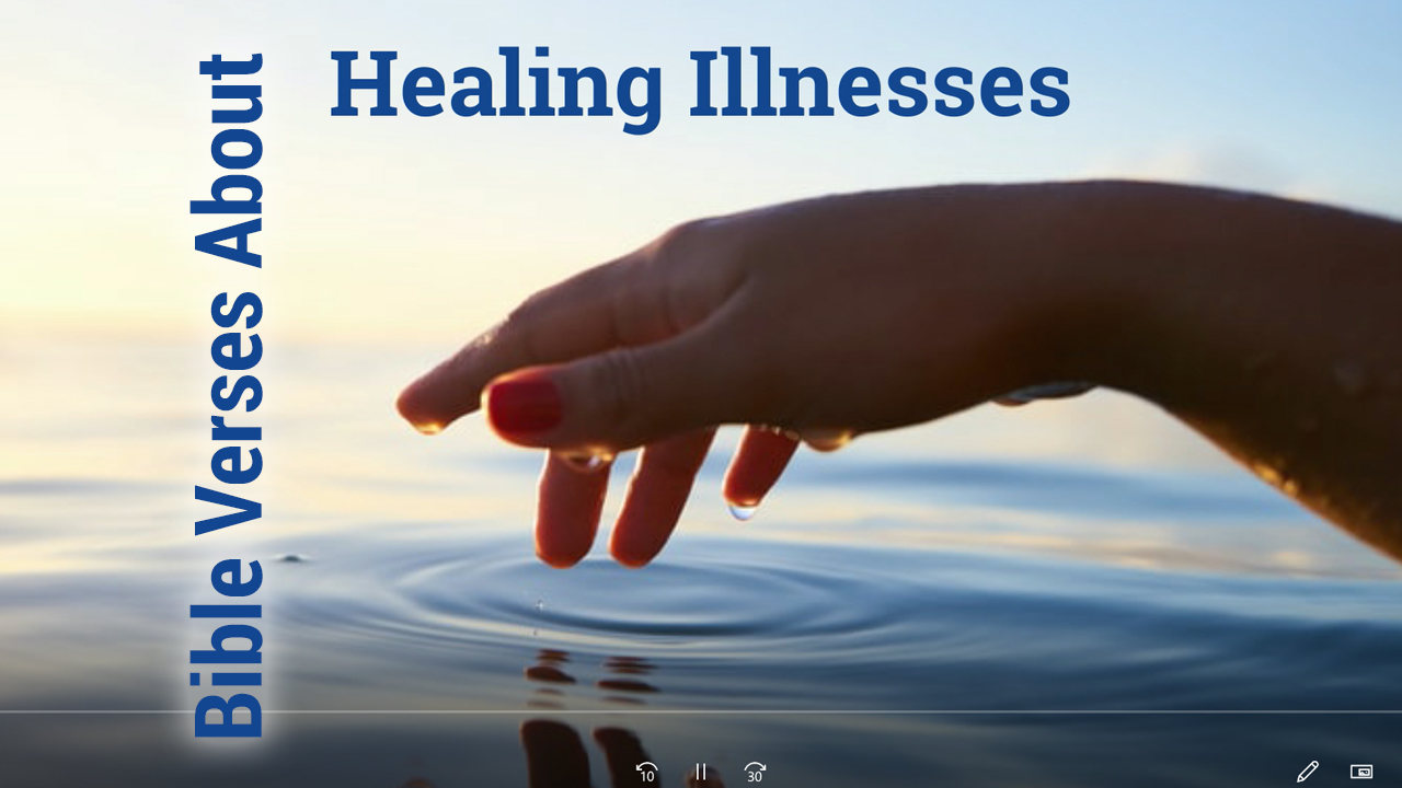 Bible verses about healing illnesses