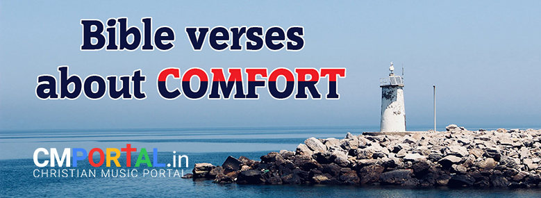 Bible verses about comfort and strength in hard times