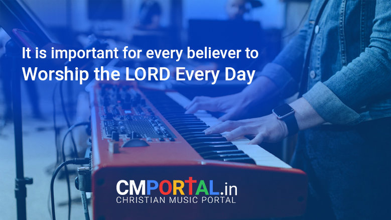 How to worship God with music?